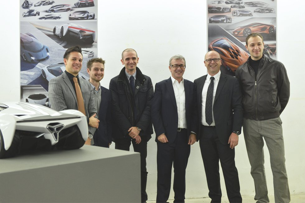 SPD showcases the final work from the Master in Car Design 12-13