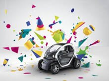 Patrick Lecharpy and Luciano Bove from Renault present the Twizy design story on 10/5/12