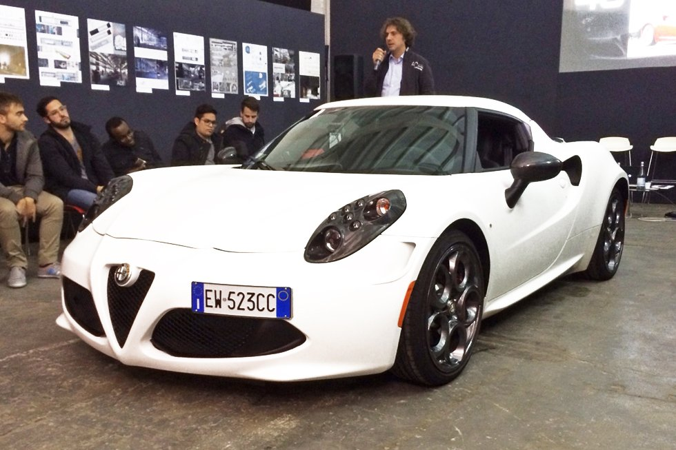 Alfa Romeo 4C: one-way street. A meeting with Alessandro Maccolini