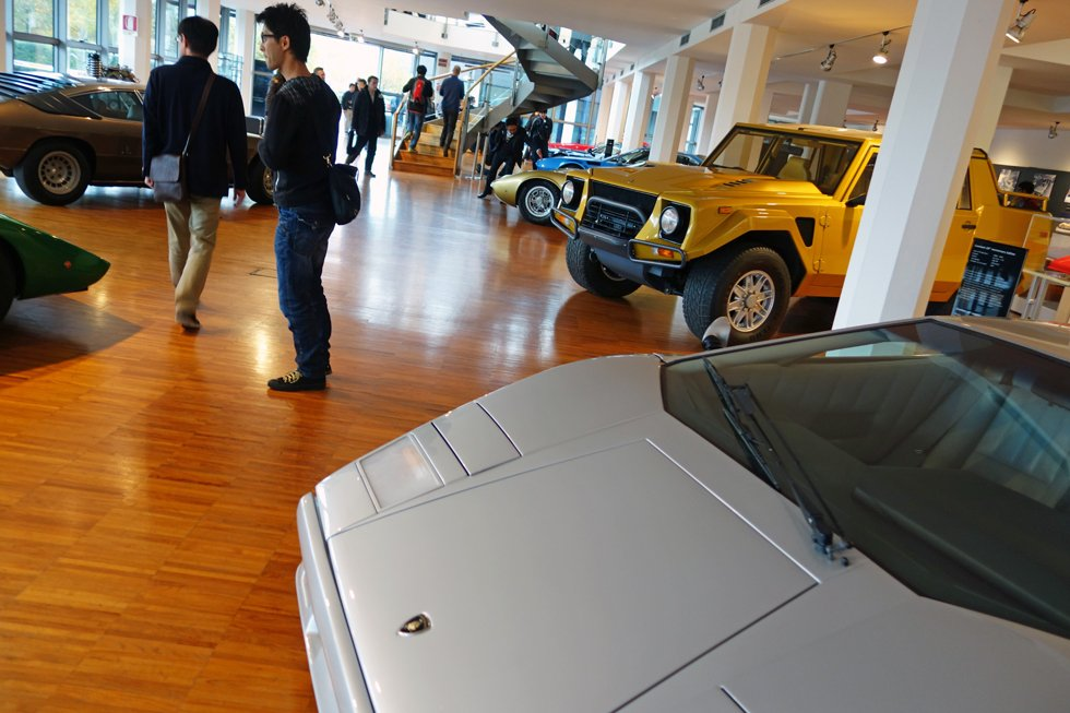The Master's in Car Design on a study trip to the Italian motor valley